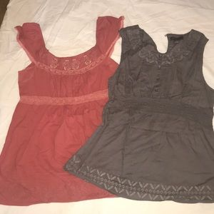 Bundle 2 blouses for $15